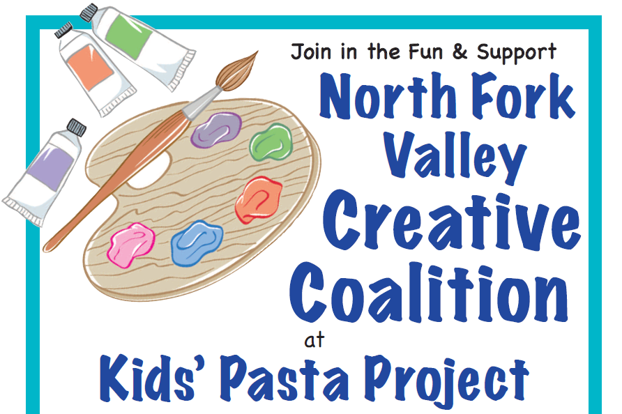 Kids' Pasta Project Dinner for NFV Creative Coalition