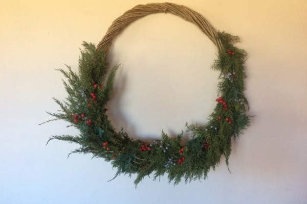 Willow wreaths and Ornaments
