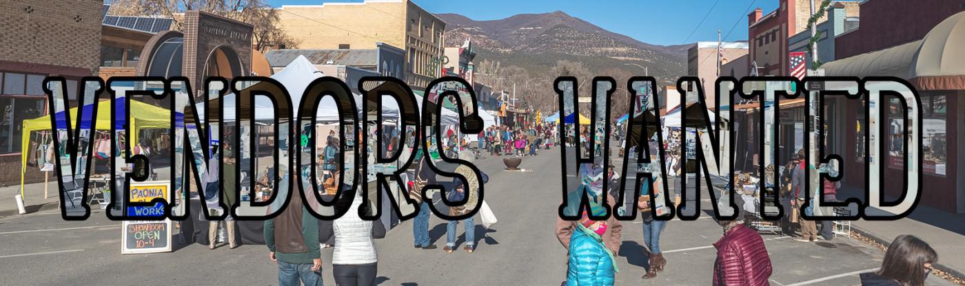 Vendors Wanted: Paonia Final Saturday Street Markets
